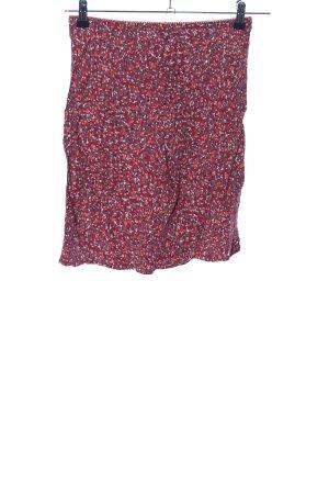 Street One Mini-jupe rouge motif abstrait style décontracté