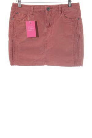 Street One Mini rok roodbruin casual uitstraling