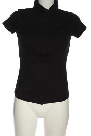 Street One Koszulka polo czarny W stylu casual