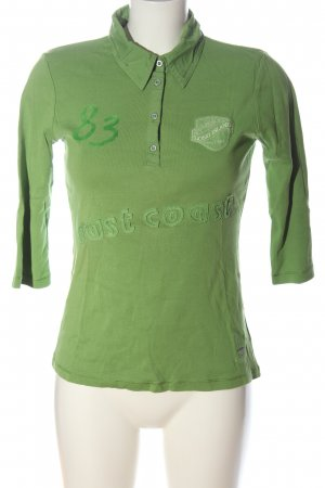 Street One Polo Shirt green casual look