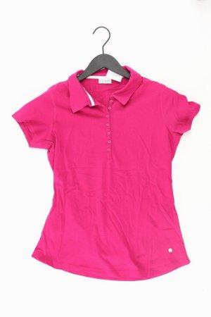 Street One Poloshirt Größe 38 Kurzarm pink aus Baumwolle