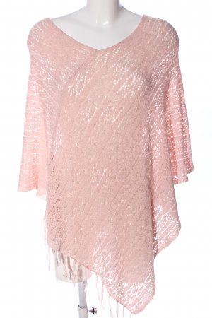 Street One Poncho rosa stile casual