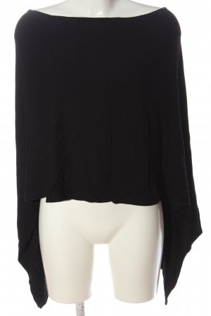 Street One Poncho black casual look