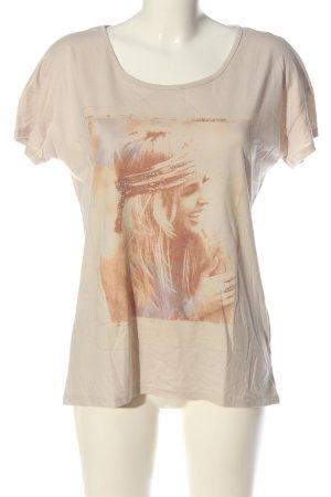 Street One Print Shirt cream themed print casual look