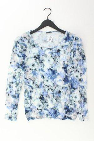 Street One Print Shirt blue-neon blue-dark blue-azure polyester