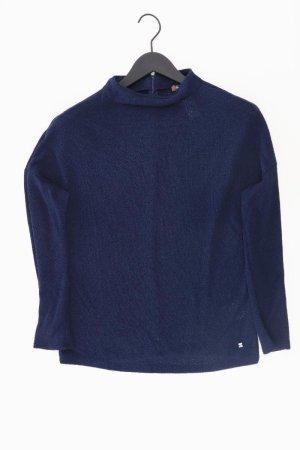 Street One Pullover Größe 38 blau aus Viskose