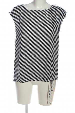 Street One Ringelshirt weiß-schwarz Streifenmuster Casual-Look