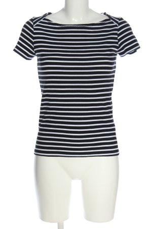 Street One Ringelshirt schwarz-weiß Streifenmuster Casual-Look