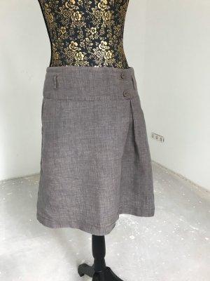 Street One Falda de lino gris
