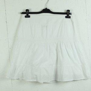 Street One Spódnica midi biały Bawełna