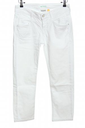 Street One Jeans a sigaretta bianco stile casual