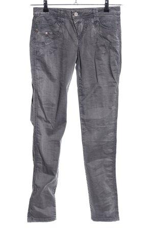 Street One Jeans cigarette gris clair style décontracté