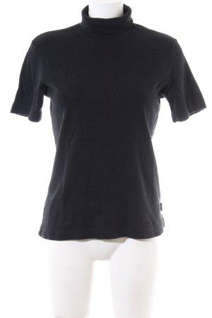 Street One Colshirt zwart casual uitstraling