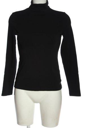 Street One Koszulka z golfem czarny W stylu casual