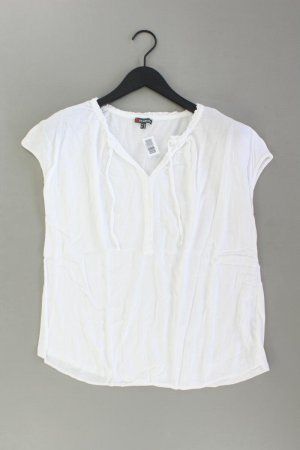 Street One Ruffled Blouse natural white