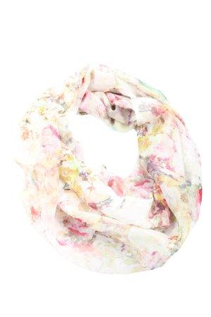 Street One Rundschal weiß-pink Allover-Druck Casual-Look