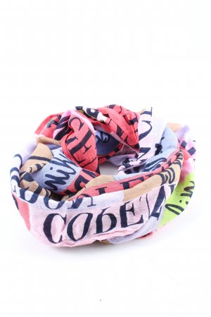 Street One Snood printed lettering casual look