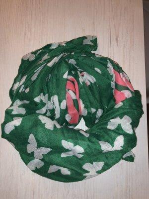 """Street One Schal grün, Schmetterlinge, """"pink butterfly"""""""