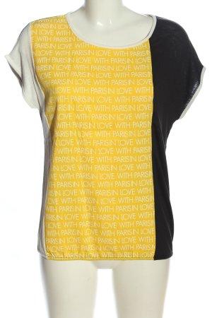 Street One Schlupf-Bluse Schriftzug gedruckt Casual-Look