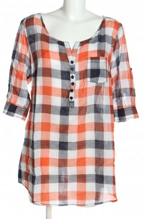 Street One Schlupf-Bluse Karomuster Casual-Look