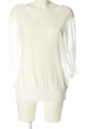 Street One Schlupf-Bluse creme Casual-Look