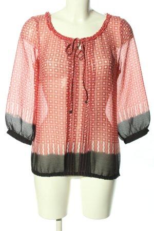 Street One Schlupf-Bluse Allover-Druck Street-Fashion-Look
