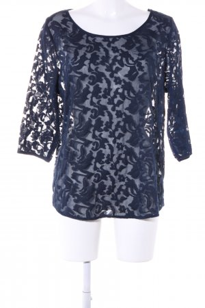Street One Slip-over blouse blauw casual uitstraling