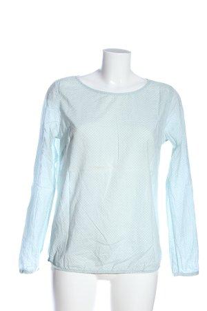Street One Schlupf-Bluse blau Allover-Druck Casual-Look
