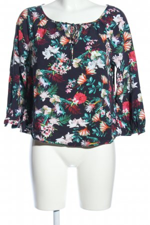 Street One Slip-over blouse bloemenprint casual uitstraling