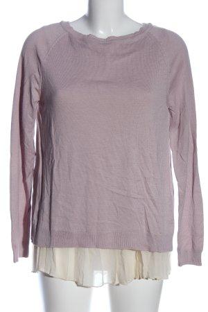 Street One Schlupf-Bluse braun-creme Casual-Look