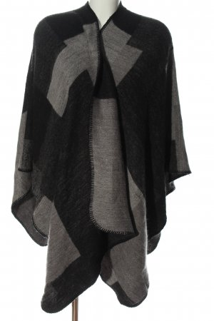 Street One Shoulder Scarf black-light grey graphic pattern casual look