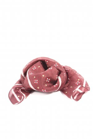 Street One Neckerchief red-white allover print casual look