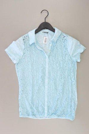 Street One Shirt blau Blumenmuster Größe 36