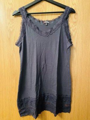 Street One Camicia lunga antracite-grigio scuro