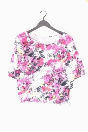 Street One Shirt mehrfarbig Blumenmuster Größe 40