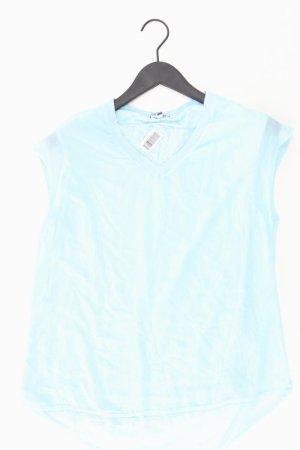 Street One V-hals shirt blauw-neon blauw-donkerblauw-azuur