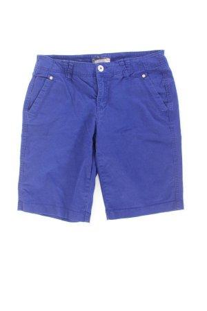 Street One Shorts blue-neon blue-dark blue-azure cotton