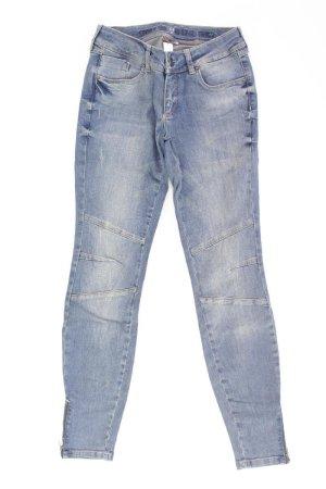 Street One Skinny Jeans blue-neon blue-dark blue-azure cotton
