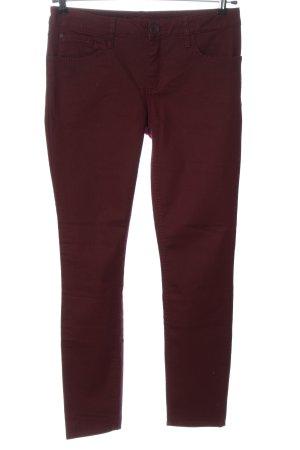 Street One Slim Jeans red casual look
