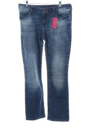 Street One Slim Jeans blau Casual-Look