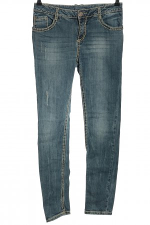 Street One Vaquero slim azul look casual