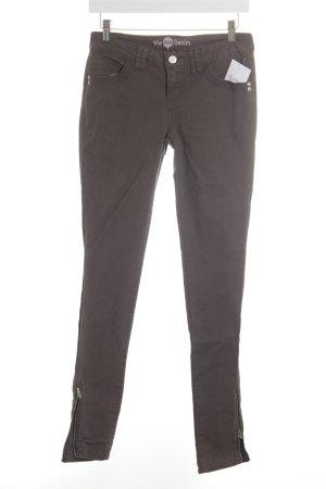 Street One Slim Jeans grau Casual-Look