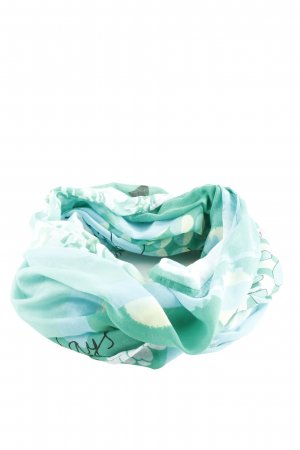 Street One Summer Scarf turquoise abstract pattern business style