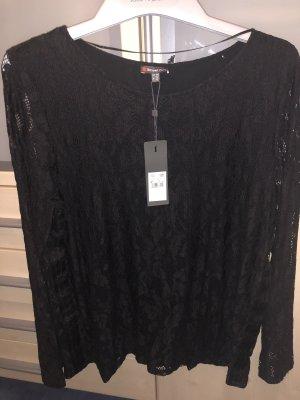 Street One Lang shirt zwart
