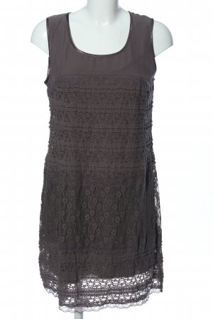 Street One Lace Dress brown weave pattern casual look