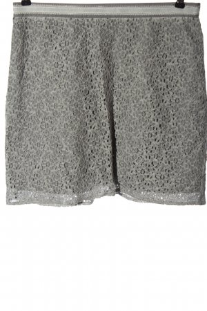 Street One Lace Skirt light grey casual look