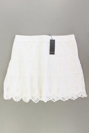 Street One Lace Skirt natural white cotton