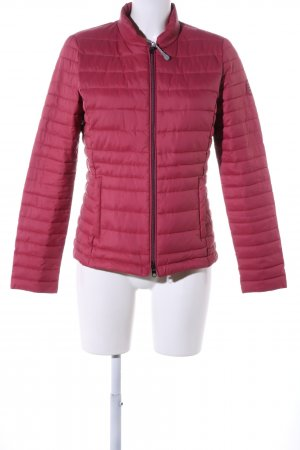 Street One Quilted Jacket red quilting pattern casual look