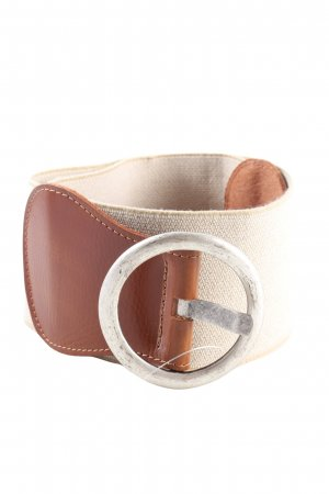 Street One Fabric Belt natural white-brown casual look