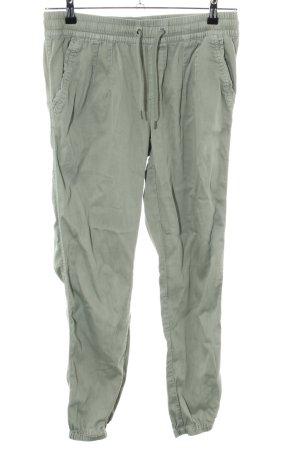 Street One Pantalon en jersey kaki style décontracté